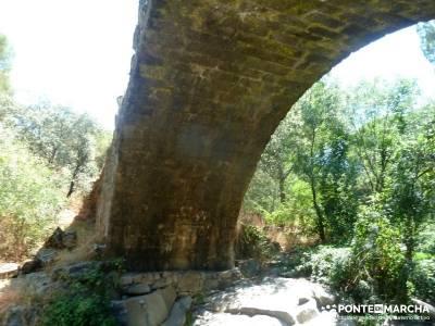 Puentes romanos Valle del Tiétar; senderismo madrid singles;caminatas madrid;rutas por madrid